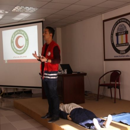 Safety and First Aid Presentation in KUST