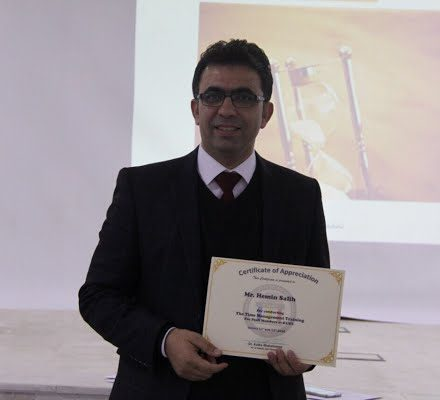 Time Management training course by Mr . Hemin Salih